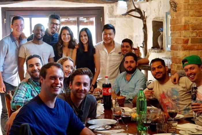 Croatia Group Dinner