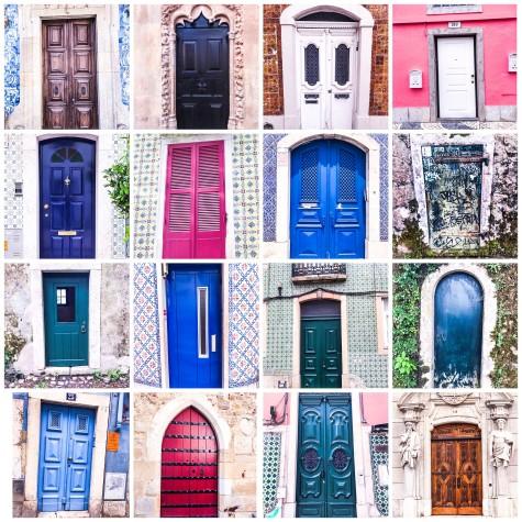 Lisbon doors